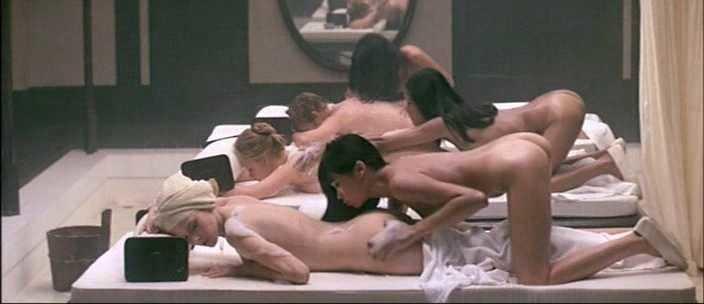 Sylvia Kristel nude massage with Catherine Rivet 2