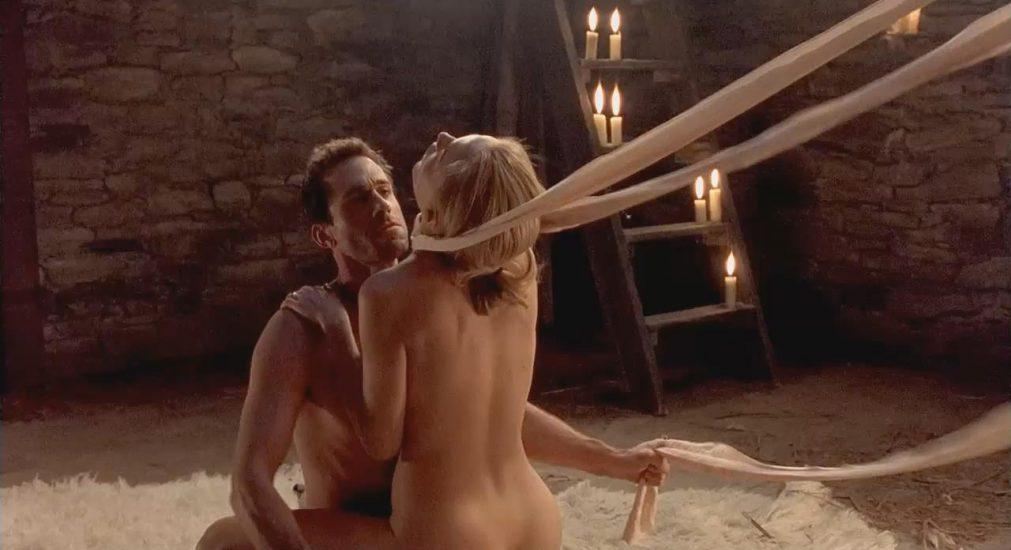 naked Heather Graham in fetish bondage sex from Killing Me Softly