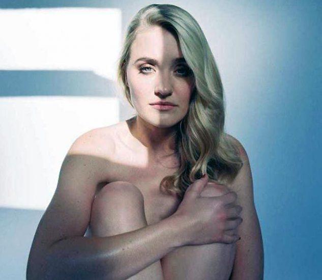 AJ Michalka naked phtooshoot