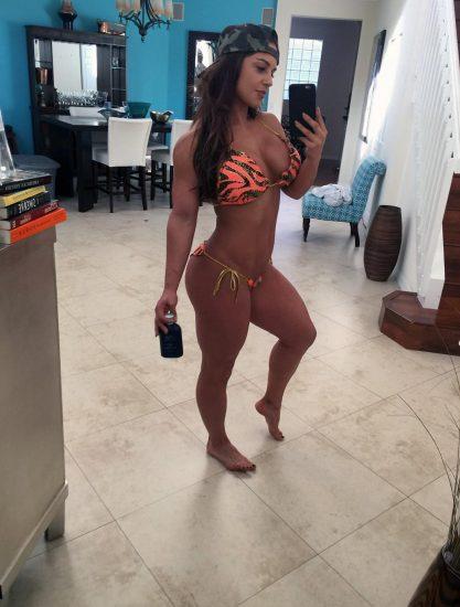 Celeste Bonin hot in a bikini