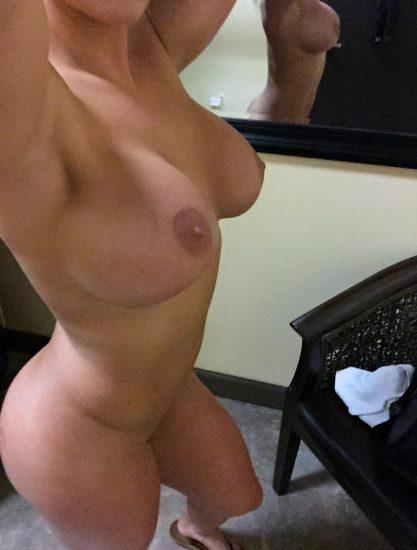 Celeste Bonin naked from the side