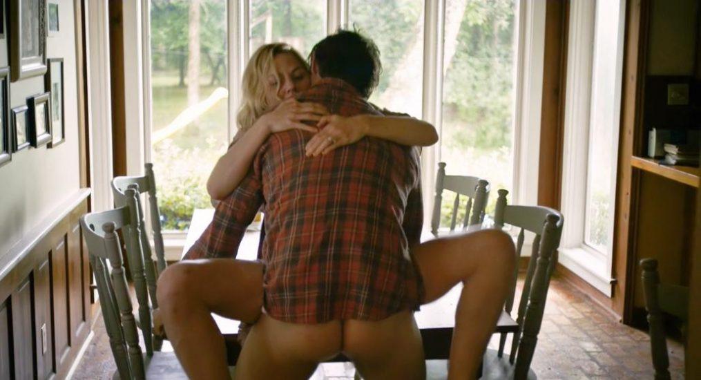 Jennifer Morrison table sex scene from Back Roads
